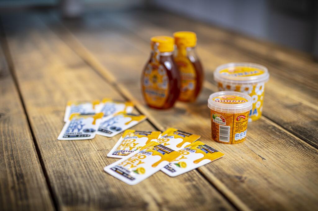 Hunajayhtymän tuotteita